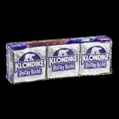 Klondike Rocky Road Ice Cream Bars 6 ct