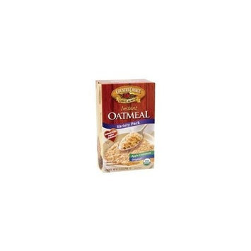 Country Choice Organic Instant Oatmeal, Variety Pack 10.25 OZ(Pack of 72)