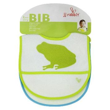 JJ Rabbit 2-pk. Organic dryBIB (Green)