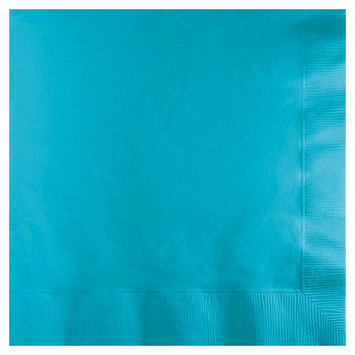 Creative Converting 3 Ply Lunch Napkins Bermuda Blue 500 Ct