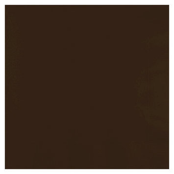 Creative Converting Lunch Paper Napkin - Chocolate Brown (50 Count)