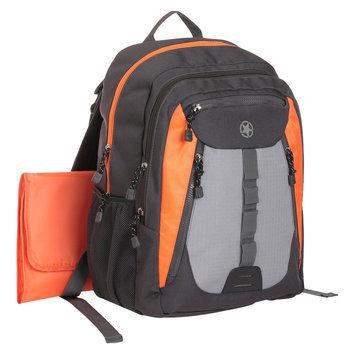 Babies R Us Jeep Everyday Diaper Bag - Black/Orange