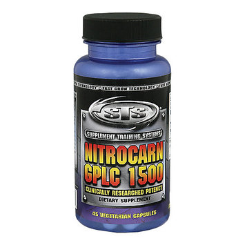 STS Sports Training Systems Nitrocarn Gplc 1500 - 45 Veggie Caps - Nitric Oxide Boosters