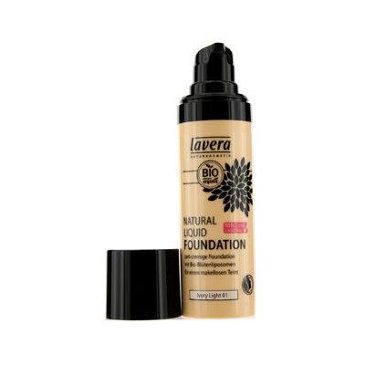 Lavera Natural Liquid Foundation Ivory Light 01 30 mL