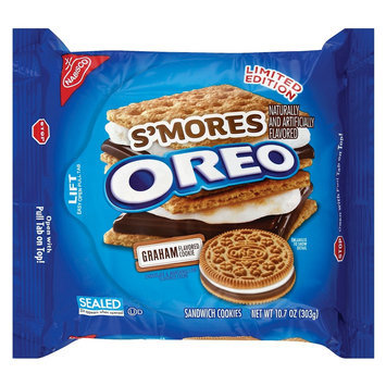 Oreo Smores Sandwich Cookies