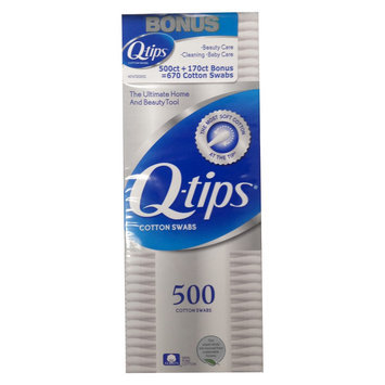 Unilever Q-Tips 750 ct Cotton Swabs