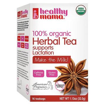 Healthy Mama Make the Milk 100% Organic Herbal Tea- 16 Count