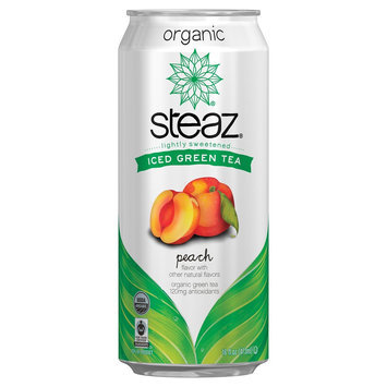 Kehe Steaz Green Tea Peach 16oz