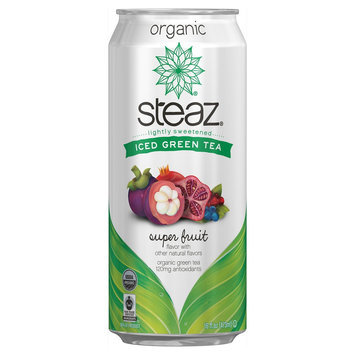 Kehe Steaz Green Tea Super Fruit 16oz