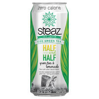 World Finer Foods, Inc. Steaz Green Tea Half & Half Zero