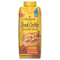 Gevalia Caramel Iced Coffee with Almond Milk