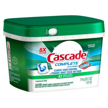 Cascade Complete with Clorox Action Pacs Fresh 21.1oz/42ct