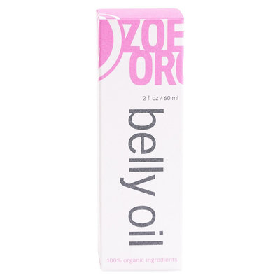 Zoe Organics Belly Oil - 2.5 fl oz