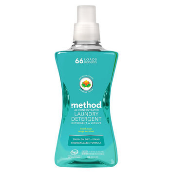 Method Laundry Detergent 66 Loads Beach Sage 53.5 fl oz