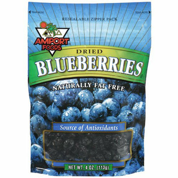 Amport Foods Dried Blueberries Snacks