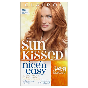 Nice N Easy Clairol Nice 'n Easy Permanent Hair Color 8SC Sandy Copper Blonde 1 Kit