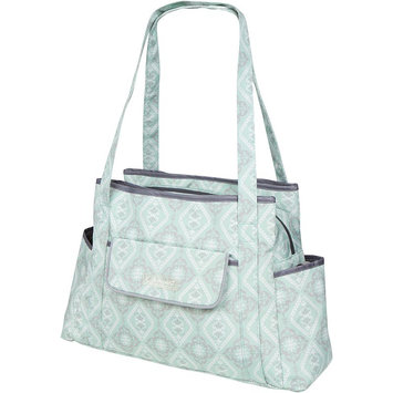 The Bumble Collection Rachel Roundabout Diaper Bag, Green