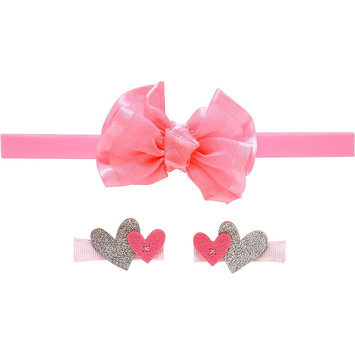 Just One You Made By Carter's Just One YouMade by Carter's Toddler Girls' 3 Piece Hair Accessories Set - Pink