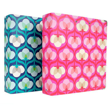 Clementine Paper Ring Binder 1 ea Non-view Cover 8.5x11 Greenroom Eco