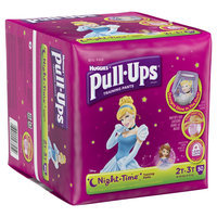 Huggies Pull-Ups Training Pants, Night*Time for Girls - Size 2T-3T (50 Count)