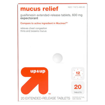 up & up Mucus Relief Extended Release Tablets - 20 Count