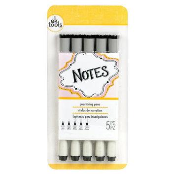 Ek Success EK Tools Journaling Pens-Black 5 Pk, Black