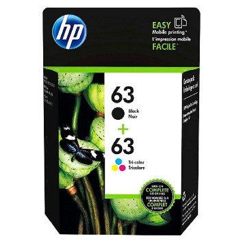 Hewlett Packard HP 63 2-pack Black/Tri-color Original Ink Cartridges