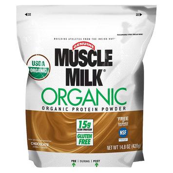 Muscle Milk Organic Chocolate Flavor Protein Powder - 14.8 oz