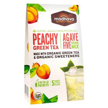 Madhava AgaveFive Drink Mix Peachy Green Tea 0.85 oz