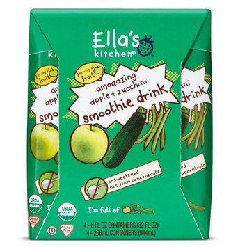 The Hain Celestial Group Inc. Ella's Kitchen Veggie Juice - Apple, Kiwi, Zucchini & Green Bean 8oz 4pk
