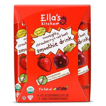 The Hain Celestial Group Inc. Ella's Kitchen Veggie Juice -Apple, Strawberry, Beet, & Raisin 8oz 4pk