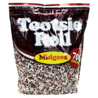Tootsie Roll Chocolate Midgees 700 ct