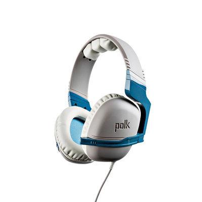 Polk Striker P1 Gaming Headset - White/Sky Blue (PlayStation/PC)