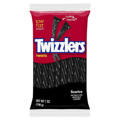 Twizzlers Twists Black Licorice