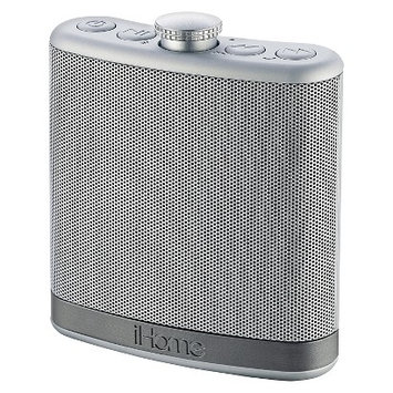Ihome IBT12SC Portable Bluetooth Speaker Silver