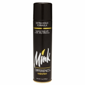 Mink Difference Hairspray, Extra Hold Formula, 7 oz