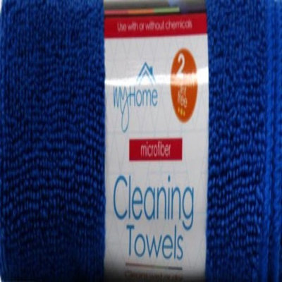 Microtex MY HOME MICROFIBER CLEANING TOWEL 2 PACK