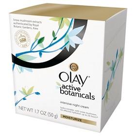 Olay Active Botanicals Intensive Night Cream Moisturizer