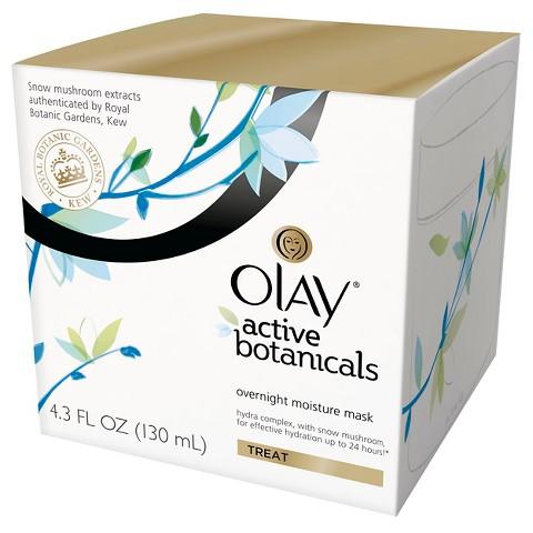 Olay Active Botanicals Overnight Moisture Mask
