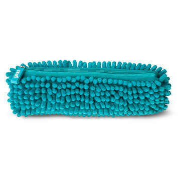 Yoobi, Lcc Yoobi Fuzzy Pencil Case - Aqua