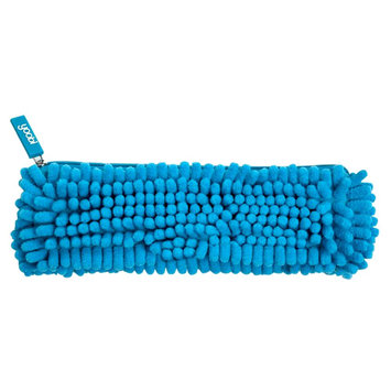 Yoobi, Lcc Yoobi Fuzzy Pencil Case - Blue