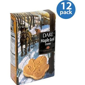 Dare Maple Leaf Creme Cookies