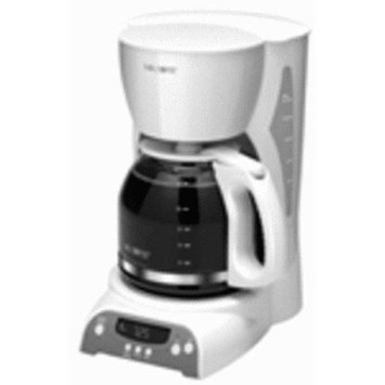 Mr. Coffee TFX20 12-Cup Programmable Pause N Serve Coffee Maker White