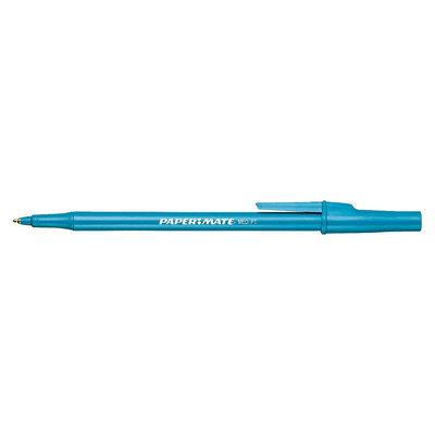 Paper-Mate Pen, Capped Ball Point, Medium (1.0mm), Blue, 60 pens
