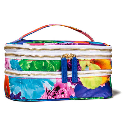 Sonia Kashuk Floral Print Triple Train Case
