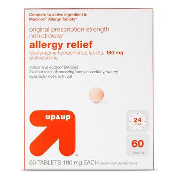 up & up Indoor & Outdoor Allergy Relief Tablets - 60 Count