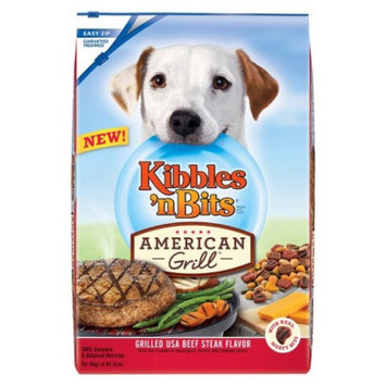 Kibbles '' Bits Kibbles 'n Bits American Grill Beef Dog Food 15 lb