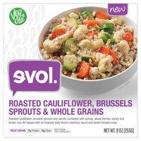 Evol Roasted Cauliflower Fennel and Black Rice 9oz