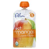 Plum Organics Stage 1 Just Mangos Baby Food - 3.5oz (6 Pack)