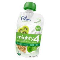 Plum Organics Mighty 4 Spinach, Kiwi, Barley, & Greek Yogurt - 4oz (6 Pack)